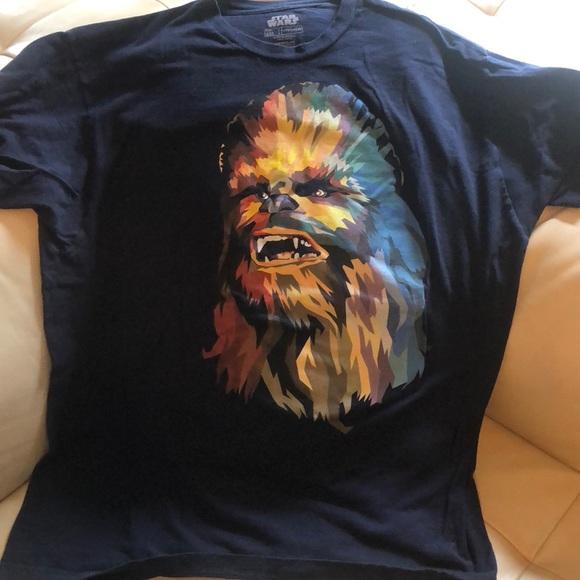 eb07b47d Fifth Sun Shirts   Chewbacca Xxl Dark Blue Tshirt   Poshmark
